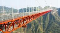 Aizhai suspension Bridge video