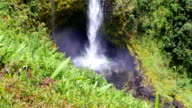 Akaka Falls close up of splash video