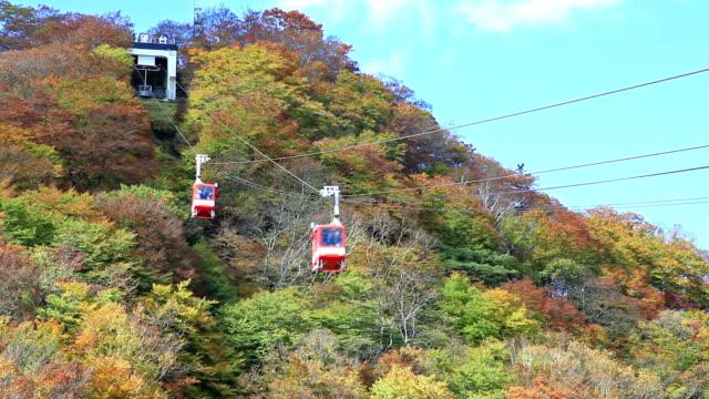 Akechidaira Ropeway Nikko Japan. video
