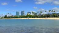 Ala Moana Park - Honolulu, Hawaii video