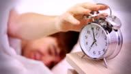 Alarm clock, morning wake up. video