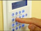 Alarm System Keypad video