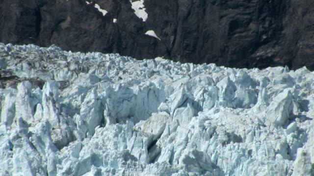 Alaska Glacier Bay Close up of Ice video