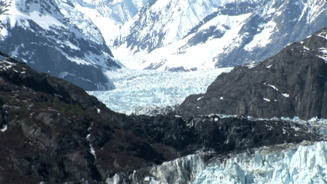 Alaska Glaciers and Mountains video