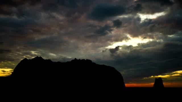 Alaska Kayak Island dusk video