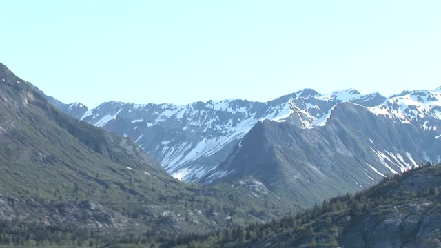 Alaska Snowy Mountains video