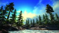 Alaskan landscape video