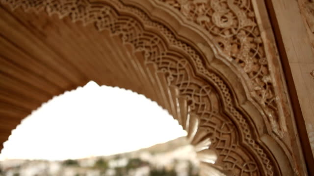 Albaicin seen from the Alhambra video