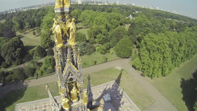 Albert memorial in Hyde Park video