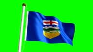 Alberta flag video