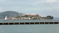 Alcatraz Island San Francisco California HD video