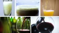 AlCOHOL BEVERAGE-MONTAGE video