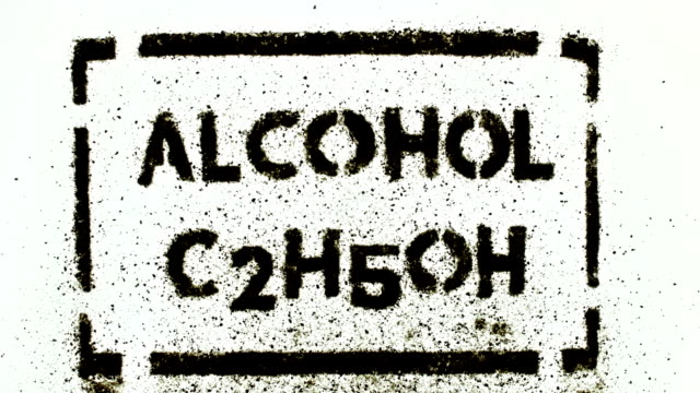 alcohol plate video