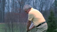 Alex Golf Swing - Multi Perspective video