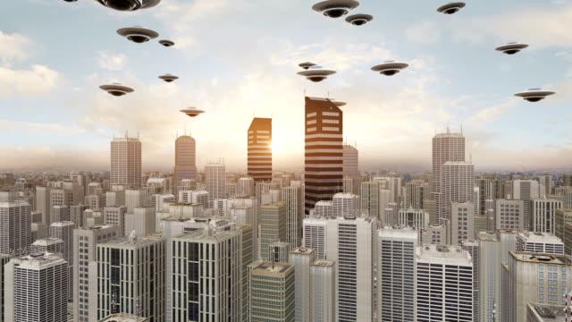 Alien Invasion In The Metropolitan City video