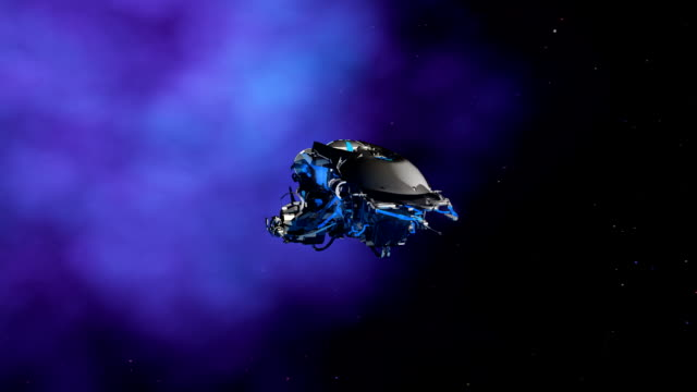 Alien Ship video