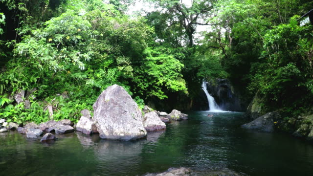 Aling aling waterfall. video