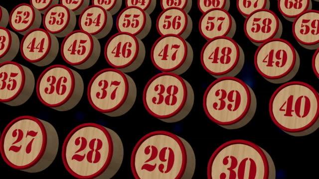All numbers bingo video