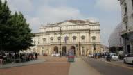 Alla Scala opera house, Milan video