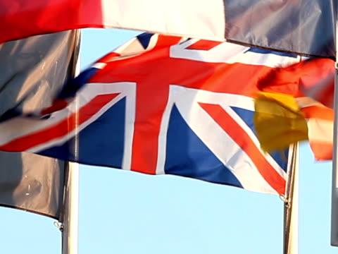 Allies of World War  flags video