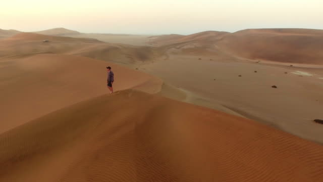 Alone with only his thoughts and the sand video