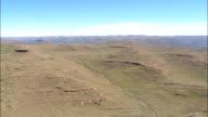 Along the Lesotho Border  - Aerial View - KwaZulu-Natal,  uThukela District Municipality,  Okhahlamba,  South Africa video
