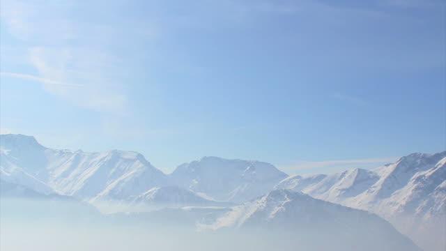 Alpe de la grand Serre, time lapse HD video