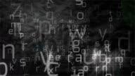 Alphabet Background video