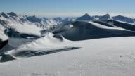 Alpine Mountain ridge video