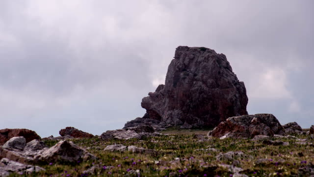 Alpine Tundra in the Clouds video