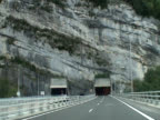 Alpine tunnel video
