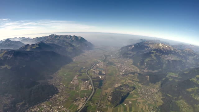360°+ Alps Aerial View - 3000m video