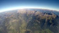 360°+ Alps Aerial View - 4000m video