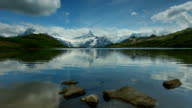 Alps and Bachalpsee in Time lapse video
