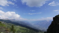 Alps - Swiss mountain time-lapse video