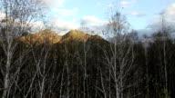 Altai Mountains in autumn, Russia video