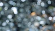 Aluminum billet roundels, lying in a pile closeup in focus video