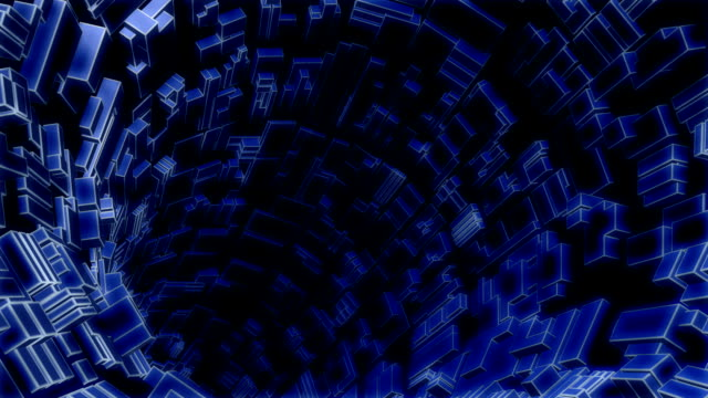 amazing journey in hi-tech tunnel video