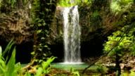 Amazing Tropical Waterfall. video