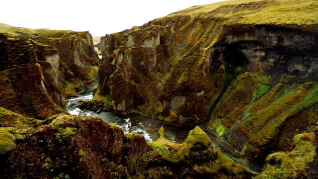 Amazing View of Magnificient Green Canyon with Natural River. video