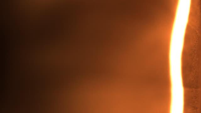 Amber Abstract Flash Burn video