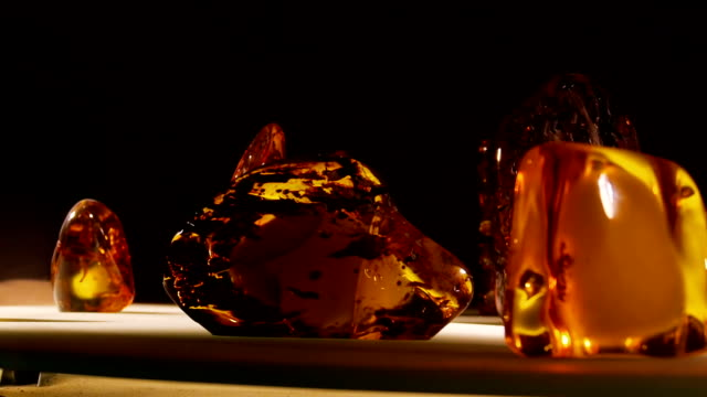 Amber stone video