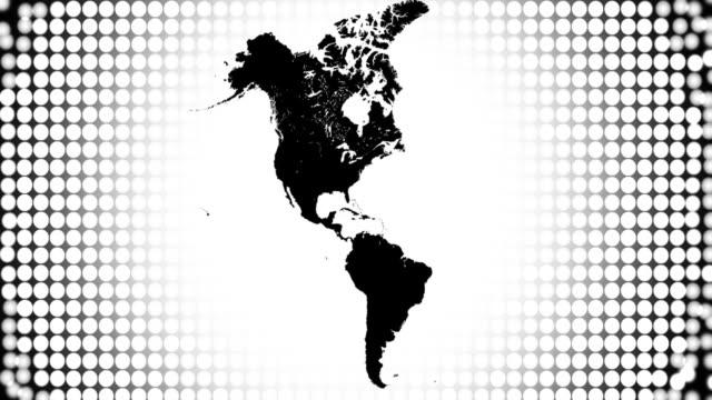 America Map video