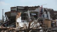 American Flag amidst Rubble and Destruction from Joplin Tornado video