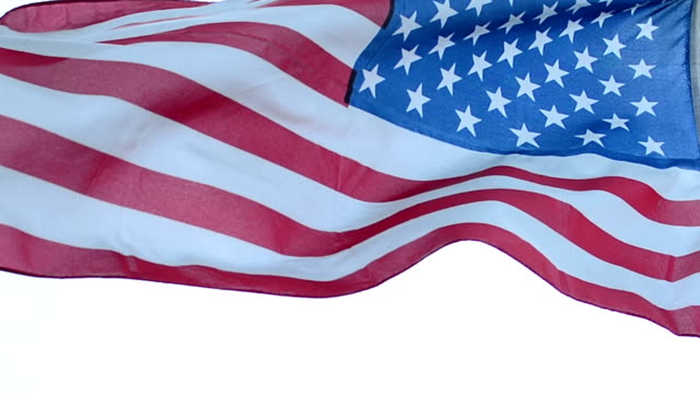 USA American Flag video