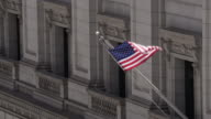 American flag waving video