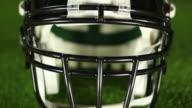 American Football Helmet front - HD & PAL video