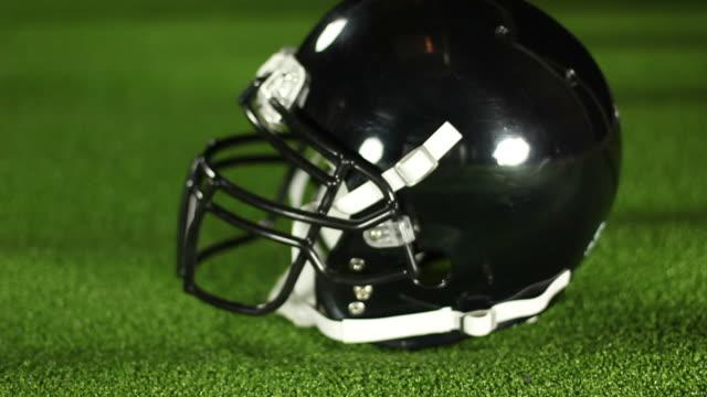 American football Helmet Side - HD & PAL video