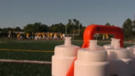 American Football. Practice. Ball. Playing Field. video