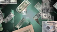 (Loop) American Money Falling video